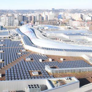 Du photovoltaïque pour  Médiacité à Liège